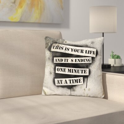 Manthey This is Your Life Throw Pillow
