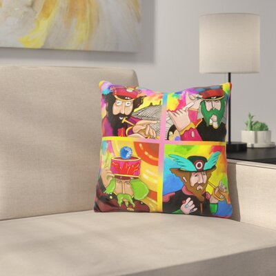 Sgt Peppers Sub Throw Pillow