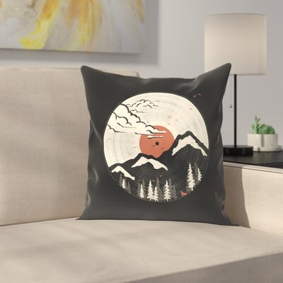 Mtnlp Throw Pillow Size: 14 x 14