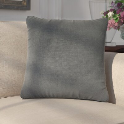 Mckayla Stain Resistant Down Filled Throw Pillow Color: Buoy