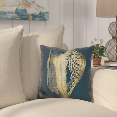 Buchheit Shell on Cobalt Throw Pillow