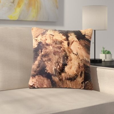 Abstract Anarchy Design King Midas Abstract Outdoor Throw Pillow Size: 18 H x 18 W x 5 D