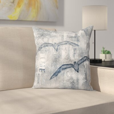 Time Flies 1 Throw Pillow Size: 14 x 14