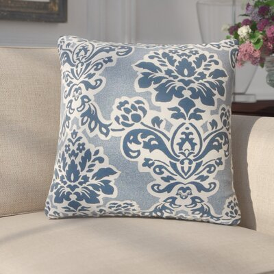 Anastagio Damask Cotton Throw Pillow