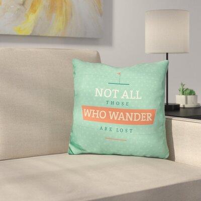 Schnebelen Not Lost Throw Pillow