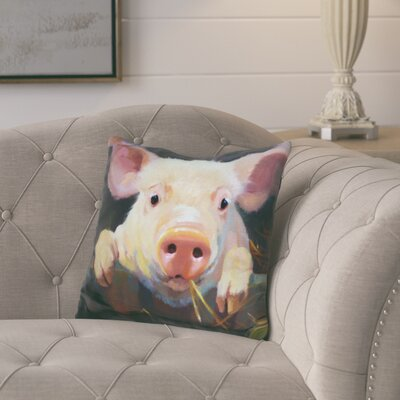 Loughlin Farm Club Throw Pillow