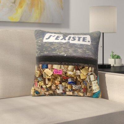 Luvprintz Jexiste Outdoor Throw Pillow Size: 16 H x 16 W x 5 D