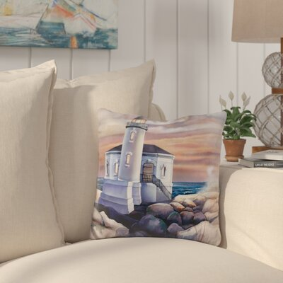 Campuzano Lighthouse Throw Pillow
