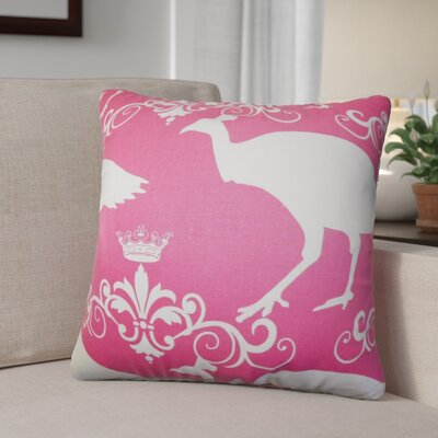 Yasemin Animal Print Cotton Throw Pillow