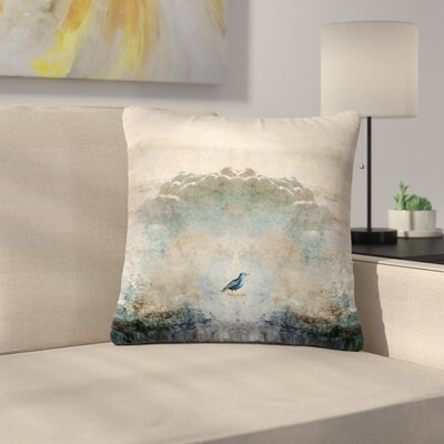 Pia Schneider Heavenly Bird Animals Outdoor Throw Pillow Size: 16 H x 16 W x 5 D