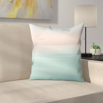 Meer Throw Pillow Size: 14 x 14