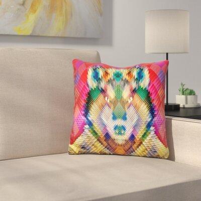 Corporate Wolf Cushion Throw Pillow