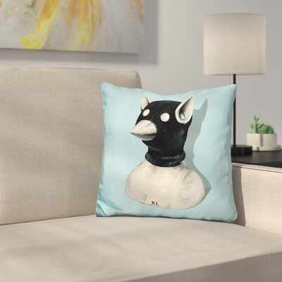 Bandit Hat Throw Pillow