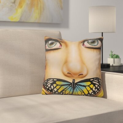Butterfly Thoughts Throw Pillow