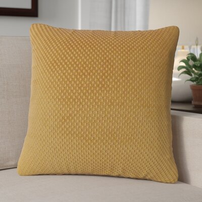 Jonie Textured Woven Toss Throw Pillow Color: Nouget