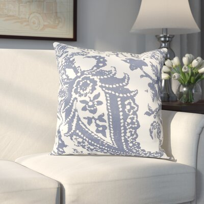 Sanford 100% Cotton Pillow Cover Color: Blue