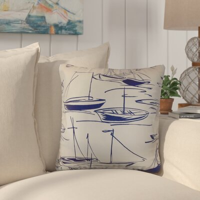 Iles Nautical Cotton Throw Pillow