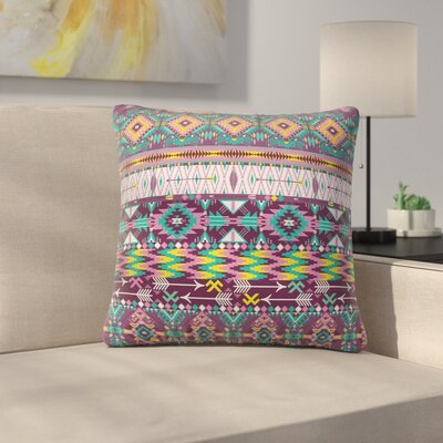 Modern Tribal Square Pillow Cover Size: 24 x 24