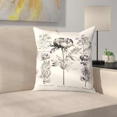Besler 6 Throw Pillow Size: 16 x 16