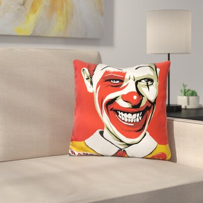 Im Afraid of Americans Throw Pillow