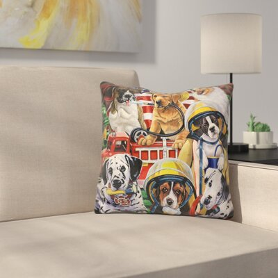 Hero Helpers Throw Pillow