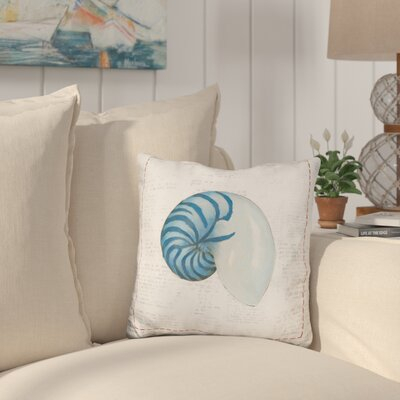 Callas Nautilus Throw Pillow