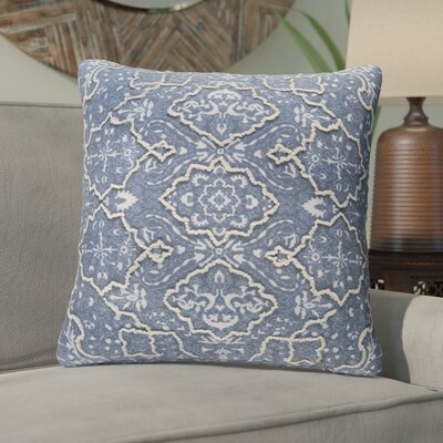 Brandon Throw Pillow Size: 20 H x 20 W x 4 D, Color: Blue