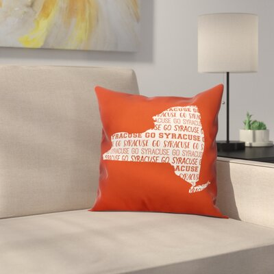 New York Go Team Square Throw Pillow