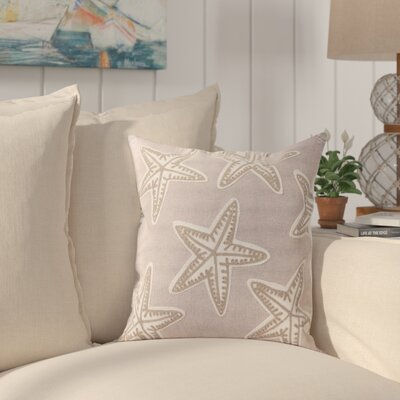 Zhispon Starfish Embroidered Throw pillow
