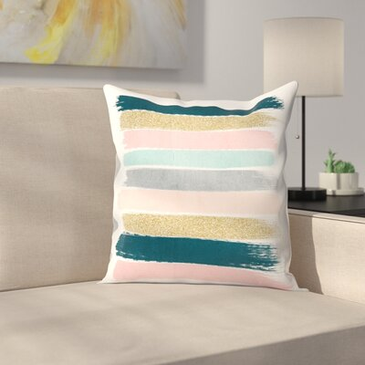 Charlotte Winter Zara Throw Pillow Size: 16 x 16