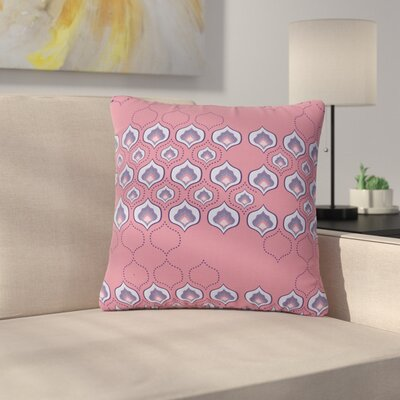 Fernanda Sternieri Happy Path Pattern Outdoor Throw Pillow Size: 16 H x 16 W x 5 D