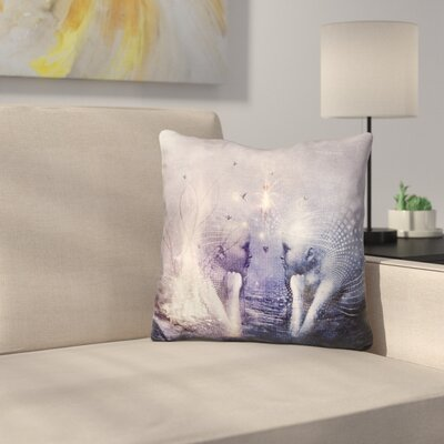 Dreams of A Scorpion Heart Throw Pillow