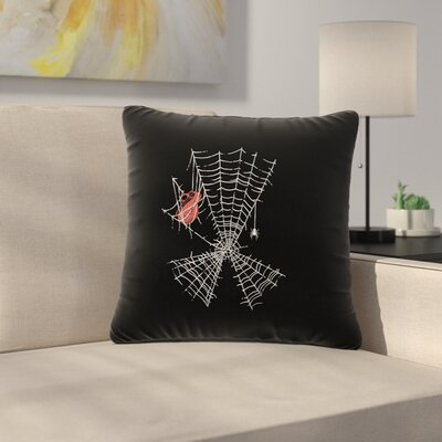 BarmalisiRTB Keep the Peace Outdoor Throw Pillow Size: 16 H x 16 W x 5 D