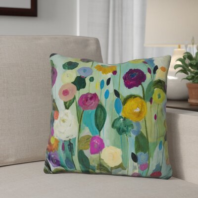 Gilley Soul Blossoms Throw Pillow