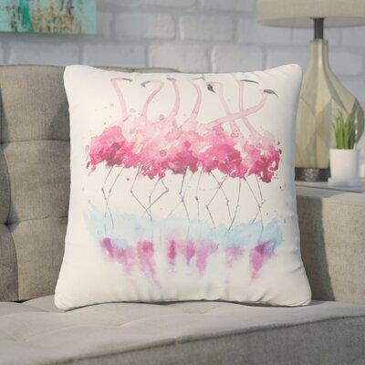 Piotrowski Flamingo Throw Pillow