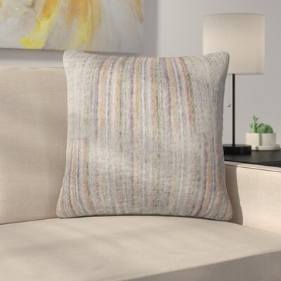 Tessier Square Throw Pillow Color: Gray
