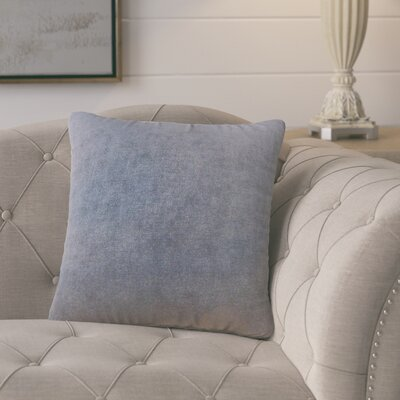 Cariati Solid Throw Pillow Color: Carbon