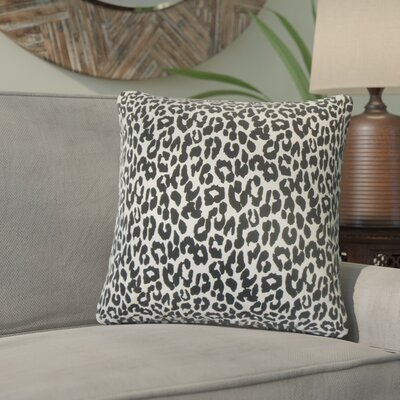 Berend Animal Print Cotton Throw Pillow