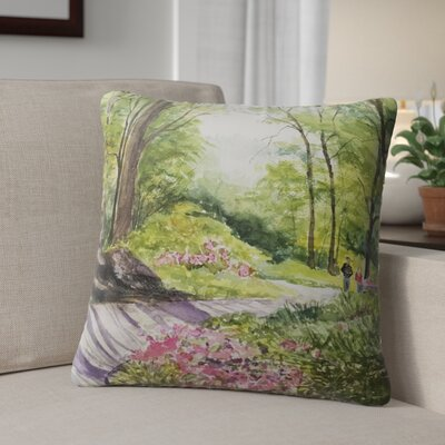 Leeann Outdoor Throw Pillow Size: 18 H x 18 W x 6 D