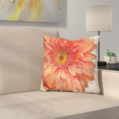 Mascher Vivid Daisy Throw Pillow
