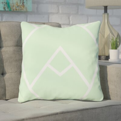 Barbagallo Throw Pillow Color: Mint