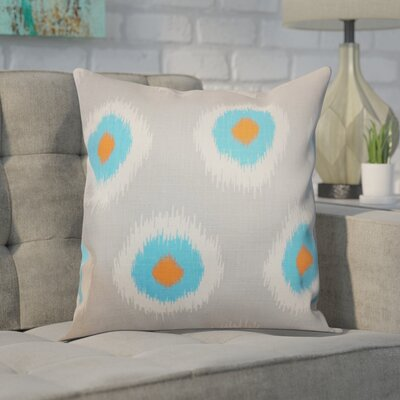 Shockey Ikat Throw Pillow Color: Chili Peppers, Size: 20 x 20