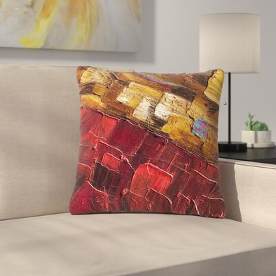 Steven Dix Movement Beneath Outdoor Throw Pillow Size: 18 H x 18 W x 5 D