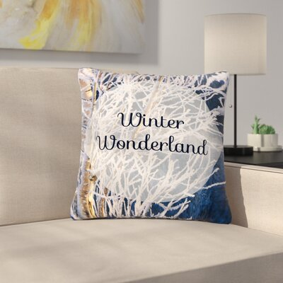 NL Designs Winter Wonderland Outdoor Throw Pillow Size: 16 H x 16 W x 5 D