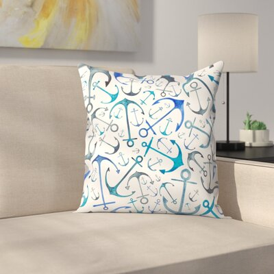 Elena ONeill Anchors Throw Pillow Size: 16 x 16