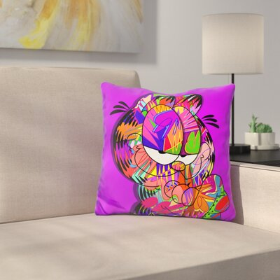 Garfield Throw Pillow