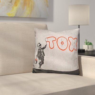 Tox Throw Pillow