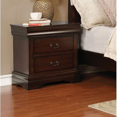 Fredette 3 Drawer Nightstand