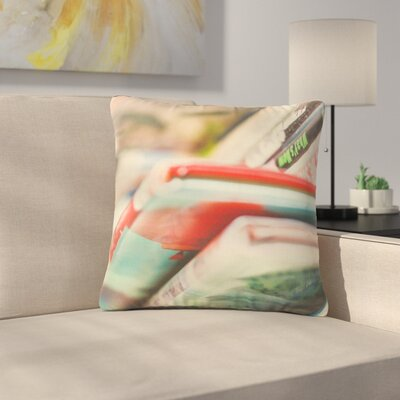Debbra Obertanec Read More Multocolor Outdoor Throw Pillow Size: 18 H x 18 W x 5 D