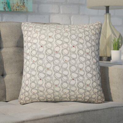 Zech Geometric Throw Pillow Color: Licorice